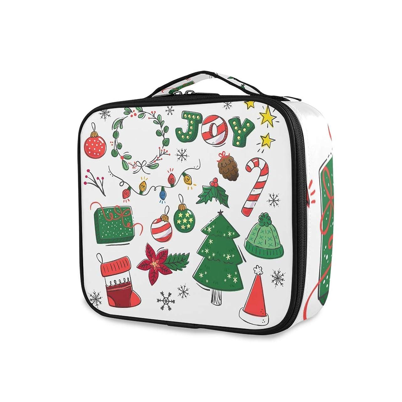朝食を食べる赤ちゃん深めるメイクボックス クリスマスツリー かわいい 大容量 収納 仕切り付き 収納ケース 機能性 小物入れ 旅行 通勤 化粧道具 高品質 メイク収納 整理 持ち運び