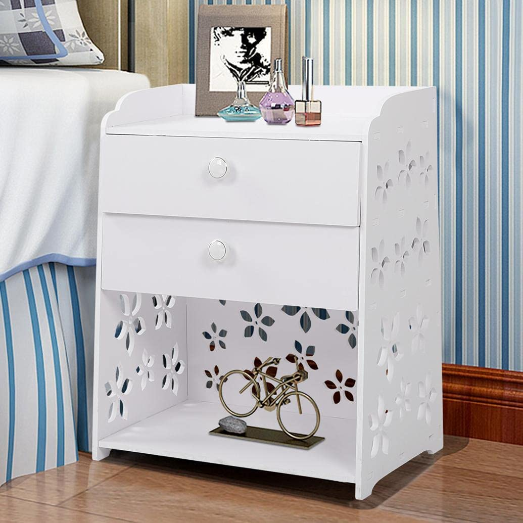 Bedside mart Table Nightstand End Tables with Max 58% OFF Morden Wood Sm Drawers