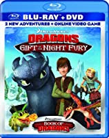DreamWorks Dragons: Gift of the Night Fury / Book of Dragons Double Pack (Two-Disc Blu-ray/DVD Combo + Online Video