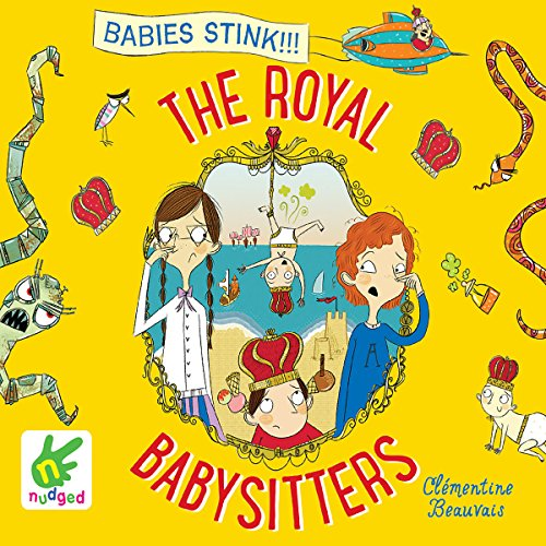 The Royal Babysitters audiobook cover art