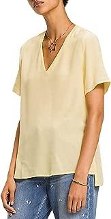 Tommy Hilfiger Women's WW0WW21496-Yellow Blouses