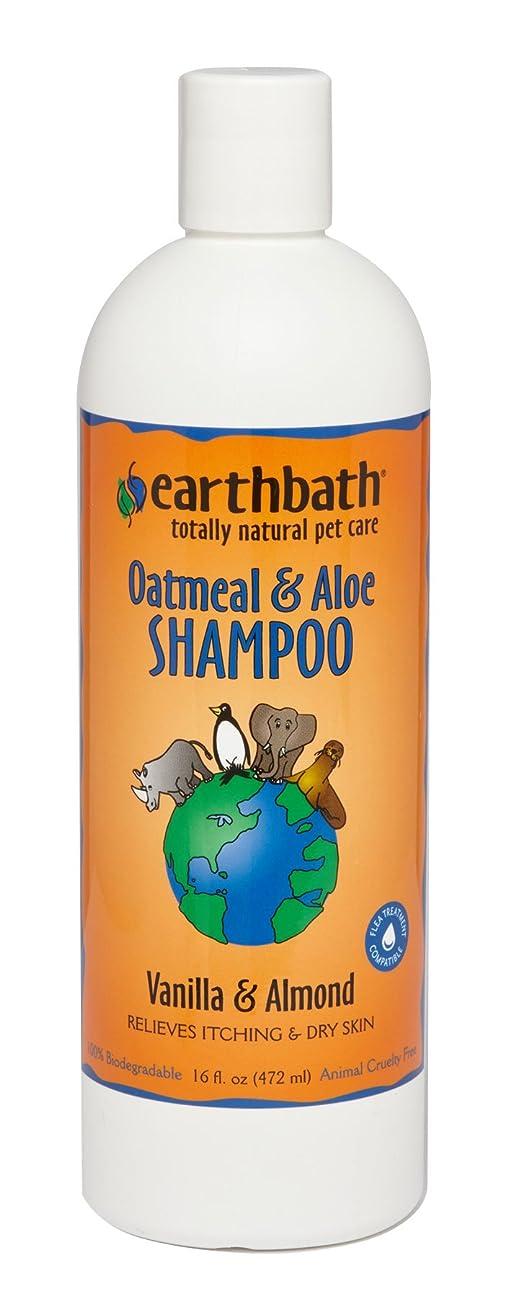 Earthbath Natural Oatmeal & Aloe Itch Relief Dog & Cat Shampoo for Sensitive Skin 16 oz