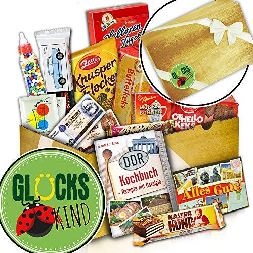 Süßigkeiten Box + Glückskind Geschenk Idee + Glückskind