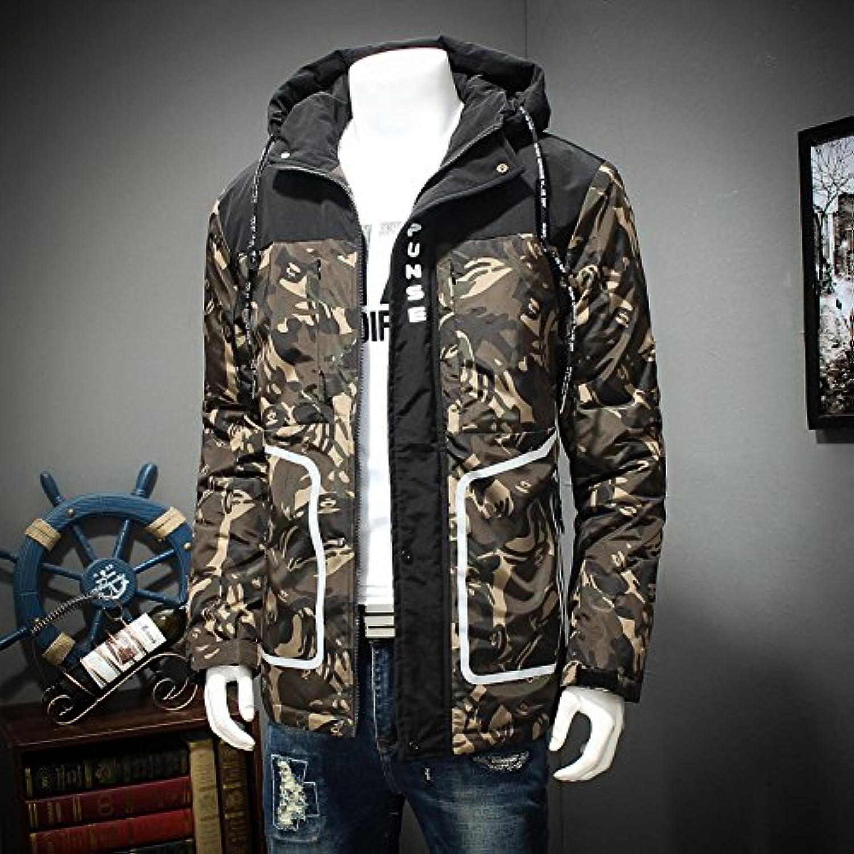 Lsm-Coat Men's Warm Parka Thick Padded Down Coat Outwear Jacket