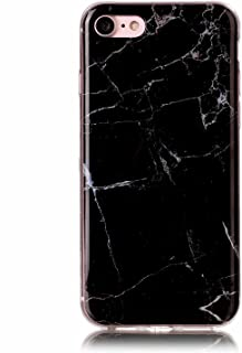 حافظة Miagon رخام لهاتف iPhone 6 Plus/6S Plus، غطاء نحيف رقيق لامع ناعم من مادة TPU مطاطي جل لطيف للنساء والفتيات والرجال...