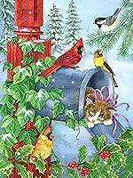 大人のための大きな鳥の木製ジグソーパズル1000個花鳥の家の装飾部屋の装飾の写真クリスマスプレゼント