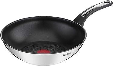 TefalEmotionPoêle wok 28 cm, Revêtement antiadhésif, Garantie 10 ans,Base épaisse pour une diffusion de chaleur homogèn...