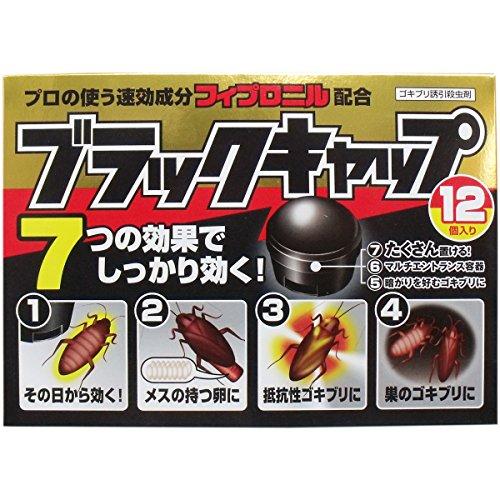 ブラックキャップ24g(12個入り)X3個セット
