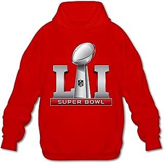 Dvigo Men's Super Bowl 51 Li Logo 2017 Hoodies