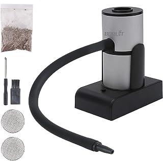 Smoking gun, mat-rökpistol med träbitar bärbara cocktails rökare batteridriven elektrisk rökare inomhus och utomhus rökmas...