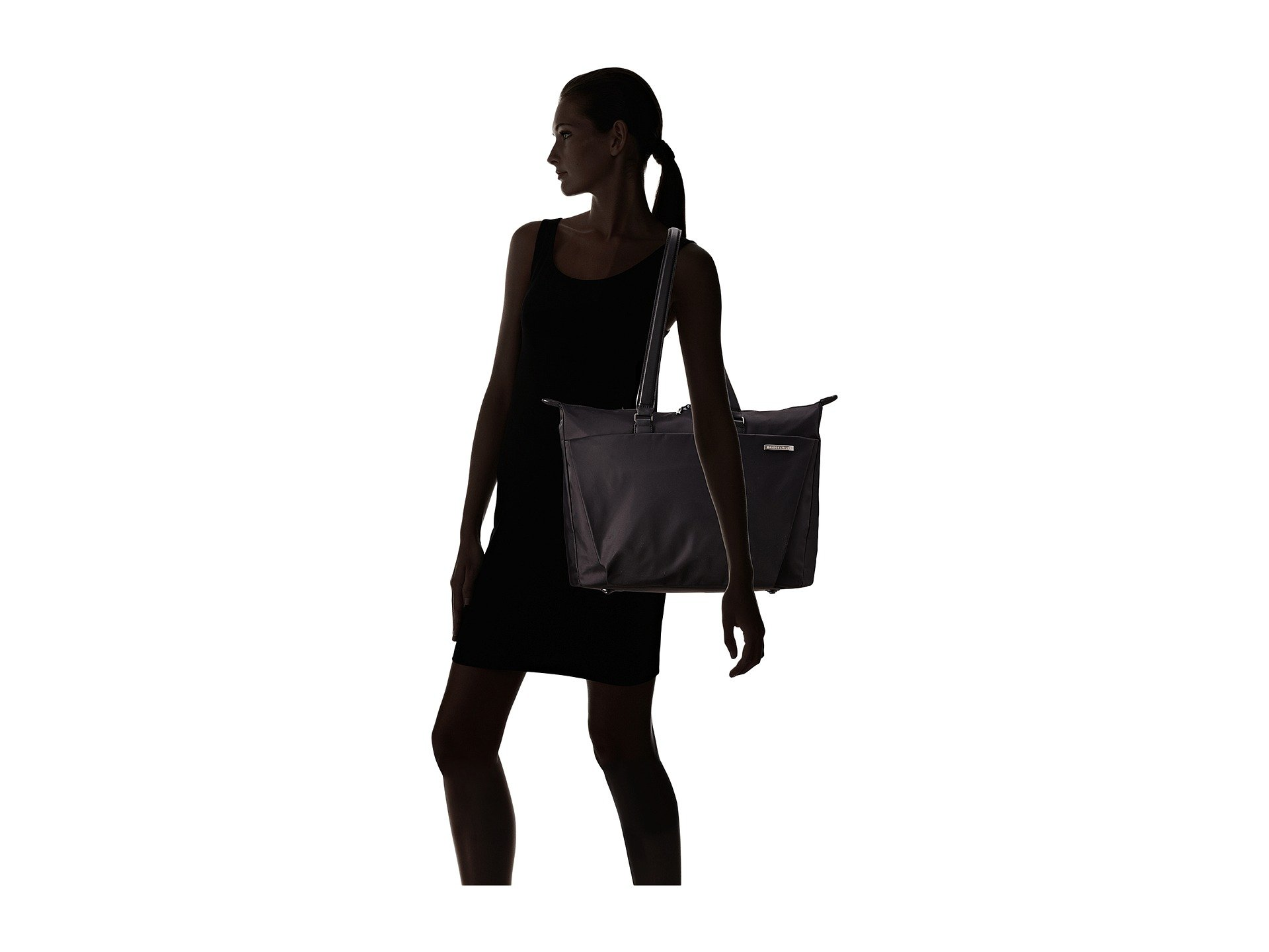 amp; Sympatico Riley Shopping Black Tote Briggs BqRdxEwq