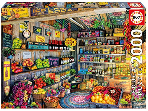 Educa- Puzzle Tienda de comestibles, 2.000 Piezas (1718)