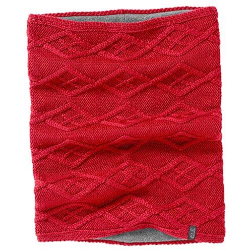 Jack Wolfskin Damen Plait Loop Women Winter-Handschuhe, Red Fire, One Size