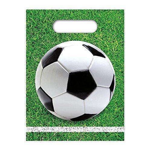 Procos - * Football Party * 6 Partytüten ca. 16 x 23 cm