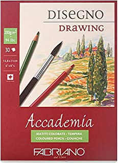 FABRIANO Accademia AC04 Drawing 200g 30sheets for Oil Pastel (A5)