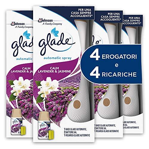 Guantes de Spray base (Carga incluida), Aroma Calm Lavender–Paquete de 4X 269ML