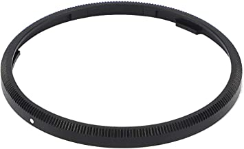 Haoge RRC-GNB Black Metal Decorate Ring Cap for RICOH GR III GRIII GR3 Camera Replaces GN-1