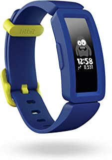 Fitbit Ace 2, Activity Tracker for Kids 6+, Night Sky + Neon Yellow