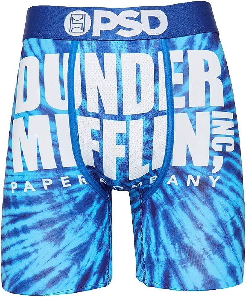 PSD Men's Boxer Brief (Blue/Dunder MIFF TIE DYE