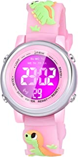 Viposoon Watch for Kids Girls, Watch for Girls Age 3-10 Dinosaurs Toys for Kids Age 4 5 6 7 8 9 10 Birthday Gifts for Girls Age 3-10 Xmas Stuff for Girls Age 3-10