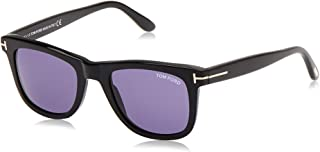 Tom Ford Leo TF 336/S 01V Black TF336/S Mens Sunglasses 52mm