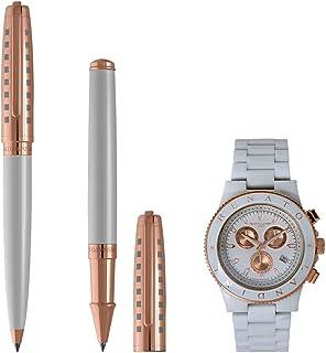 Renato Landini Men's Pen Set and Watch - RP9046 BRM
