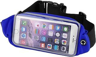 Aikesi Bolsa de Cintura portátil Mini Bolsa Guapa Bolsa de Viaje Bolsa Impermeable Lienzo antirrobo para Herramientas para Cintura Bolsa (Azul)