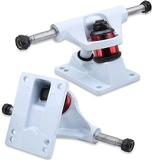 eecoo lightweight Skateboard Trucks Combo 3.25inch Wheels, Integrated design Aluminium & Magnesium Alloy Skateboard Accessory, 2pcs