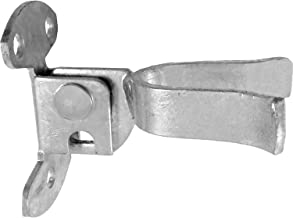 """Wall Mount (Flat Back) Fork Gate Latch - Use for 1-3/8"""" Gate Frames, Easily Mounts to Wooden Gate Post or Wall with Screws..."""