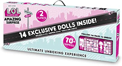 L.O.L. Surprise! Amazing Surprise with 14 Dolls, 70+ Surprises & 2 Playset