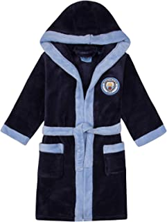 Baby Boys Dressing Gown Official Manchester City 12-18 Months