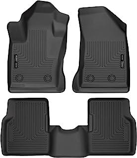 Husky Liners Fits 2017-19 Jeep Compass - Passenger Side has 2 floor mat retaining posts Weatherbeater Front & 2nd Seat Floor Mats