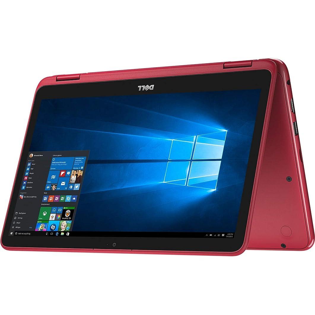 Dell Inspiron 3185 11.6' HD Touchscreen Convertible Laptop PC - AMD A9-9420e 1.8GHz, 8GB, 128GB eMMC, Webcam, Bluetooth, Windows 10 Home - Red (Renewed) nisfk879039
