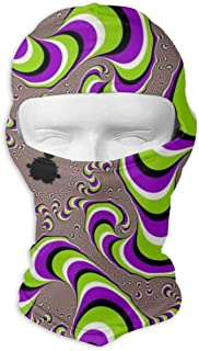 ZENRAEW Custom Fantasy Sci-Fi Dizziness Balaclava Full Face Mask Hood Outdoor Sports Hunting Cycling Motorcyle Tactical Ski Face Cover Helmet