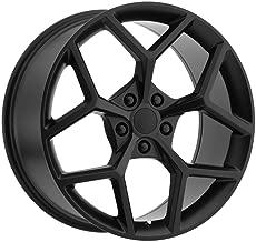 126MB Camaro Z28 OE Replica 20x11 5x120 +43mm Matte Black Wheel Rim