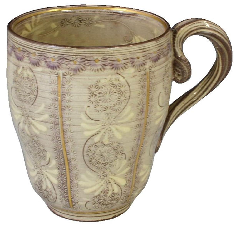 きらめきスカート行商人京焼 清水焼 陶楽窯 マグカップ 紫彩華紋 CTS518