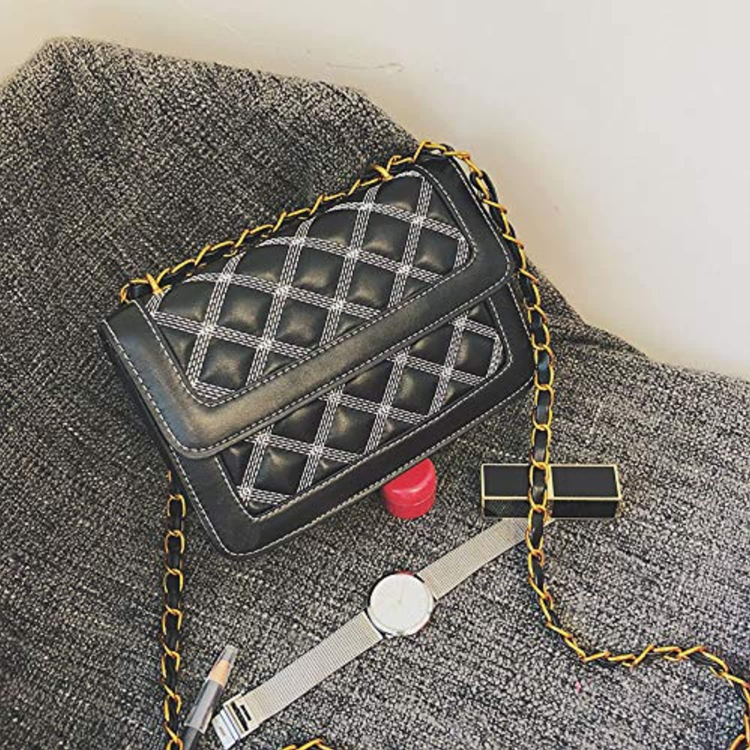 WANGZHAO Leather Bags, Women's Bags, Shoulder Bag, Cross Bag, Fashion.