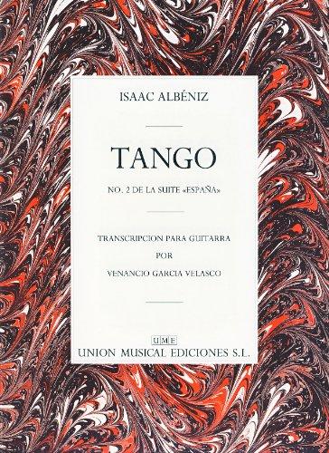 ALBENIZ - Tango Op.165 nº 2 para Guitarra (Garcia Velasco)