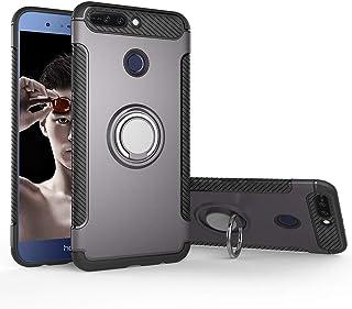 جراب لهاتف Huawei Mate SE BND-L34 / جراب Huawei Honor 7X BND-L21 BND-L24 / Honor Changwan 7X BND-AL10 BND-TL10 + حامل حلقي...