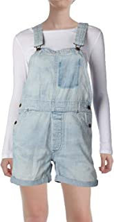 Denim & Supply Ralph Lauren Women's Classic Denim Overall Blue XS