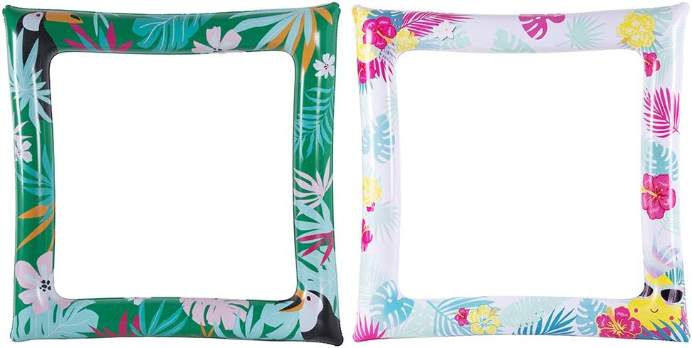 Jacksonville Mall Amosfun 2Pcs PVC Inflatable Photo Frame with Phoenix Mall Patterns Colorful f