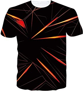 Linnhorr T-Shirts T-Shirts 3D numériques numériques 3D Unisexes