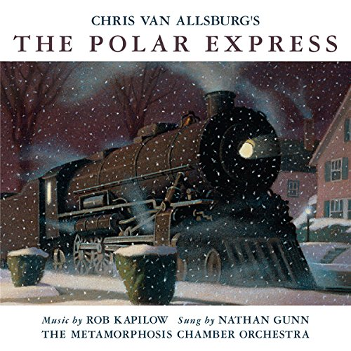 The Polar Express and Dr. Seuss's Gertrude audiobook cover art