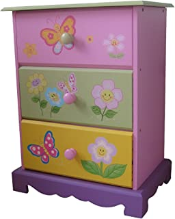 Liberty House Toys Butterfly Garden 3-Drawer Storage