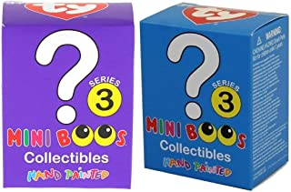 TY Mini Boos Collectibles - Series 3 - Hand Painted Figurines (x2 Figurines Sent Out at Random)