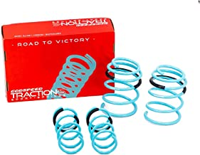 Godspeed LS-TS-NN-0003-B Traction-S Performance Lowering Springs, Reduce Body Roll, Improved Handling, Set of 4
