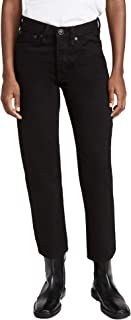 Rag & Bone/JEAN Women's Maya High Rise Ankle Wide Leg Jeans