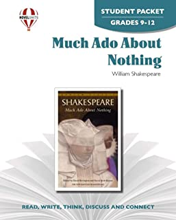 Much Ado About Nothing - Student Packet by Novel Units