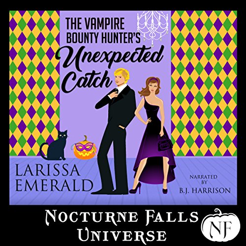 The Vampire Bounty Hunter's Unexpected Catch audiobook cover art
