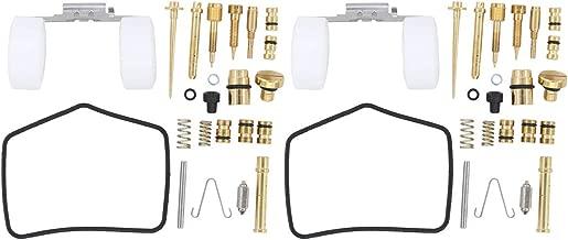 MOTOKU Pack of 2 Carburetor Rebuild Carb Repair Kit for Honda CB350 Super Sport CL350 Scrambler 1968-1973